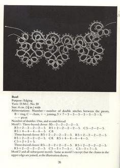Tatting Patterns and designs - Frivolitera - Álbuns da web do Picasa