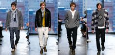 (3rd from left)- Yigal Azrouel, wallace beery shirt