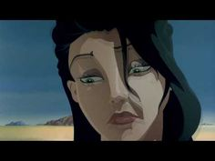 Salvador Dali and Walt Disney's short animated movie collaboration- Destino. Dali emerged from the egg before Lady Gaga, took pictures of cats being thrown with buckets of water and balancing chairs, and had a moustache you could recognise him by alone. Surreal and enchanting.