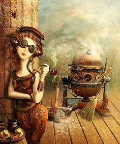 Cinderella. Story - Steampunk2 by ~LLen29