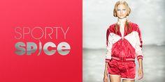 Sporty Spice- Ab jetzt gibt`s mehr Bewegung in der Mode!