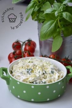 Polish Recipes, Polish Food, Salad Recipes, Potato Salad, Food And Drink, Vegetables, Cooking, Ethnic Recipes, Fit