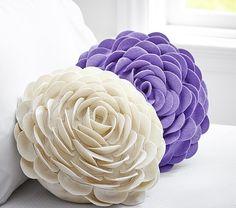 Flower Pillow   Pottery Barn Kids