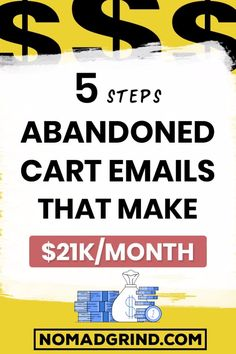 In this video, I show how to set up abandoned cart emails with Mailerlite in 2020 step by step. I show what is the best abandoned cart email sequence with some of the best abanoned cart recovery email examples. Make Money Blogging, Money Saving Tips, Way To Make Money, Money Fast, Earn Money, Email Marketing, Affiliate Marketing, Internet Marketing, Mobile Marketing