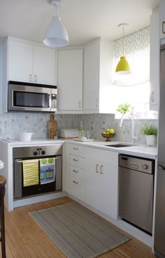 7 Tips On Decorating A Small Kitchen | Decorating, Kitchens And Kitchen  Decor