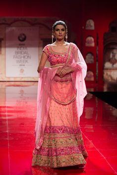Lehenga by Suneet Varma (India Bridal Fashion Week 2014)