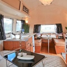 airstream campers remodel   1971 Airstream Caravel Design Ideas, Pictures, ...   Travel trailers