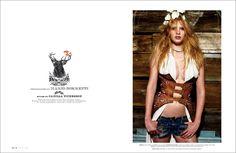 Edward Leida Design W magazine