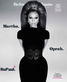 RuPaul. Classy as hell here.