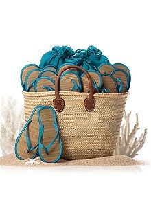 Moroccan Reed Beach Tote... Dessy style