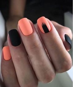 Want some ideas for wedding nail polish designs? This article is a collection of our favorite nail polish designs for your special day. Square Nail Designs, Black Nail Designs, Short Nail Designs, Short Square Nails, Short Nails, Long Nails, Stylish Nails, Trendy Nails, Minimalist Nails