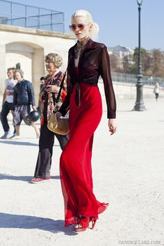 RED DRESS RED STREET STYLE RED STREETSTYLE abbey lee kershaw model photographer candice lake blog