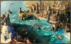 fantasy harbor - Google Search