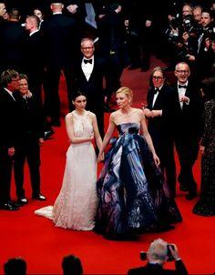 "Rooney Mara/Cate Blanchett: ""CAROL""  Cannes Film Festival, 2015."