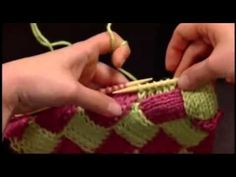 How to Knit Entrelac Beginner Video on Entrelac Knitting from Knitting Daily TV