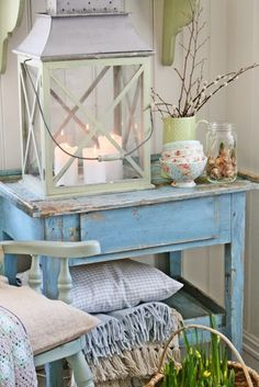 Vintage Blue | Vibeke Design ... lovely #vintageblue
