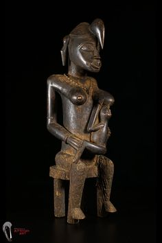 Discover African Art : Senufo Maternity Figure from Ivory Coast/Mali