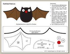 halloween felt patterns - Google Search