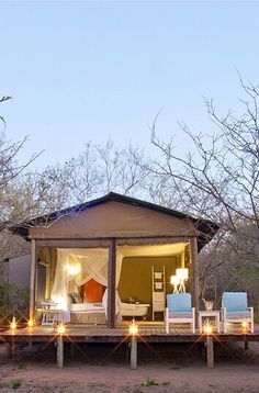 Ngama Tented Safari Lodge - Guernsey Nature Reserve, Limpopo, South Africa