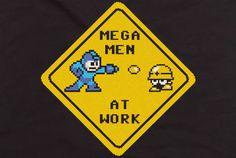 Brelston > Blog > 6 new Mega Man shirts coming to Capcom Store