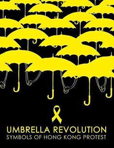 Logos of the Hong Kong Umbrella Movement Logo Competition -- #hongkong #umbrellarevolution