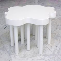 Table Clouds white:  from the Table Collection...