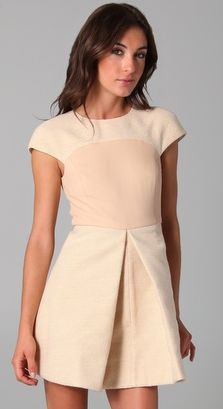 Tibi Cap Sleeve Dress  3-21-12 @TroianBellisario