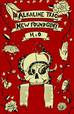 Found glory new poster