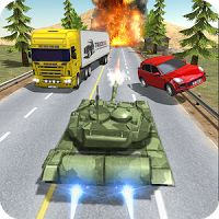 Tank Traffic Racer v 1.4 APK  Hack MOD Games Racing