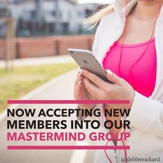 Membership opened to our Social Media Mastermind.  Click link in profile to join now.
