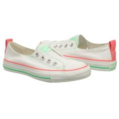 Athletics Converse Women's All Star Goreline Ox White/Pink/Peppermin Shoes.com