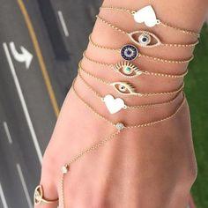 Simple Gold Bangle Bracelet, Trendy jewelry designs http://www.justtrendygirls.com/trendy-jewelry-designs/