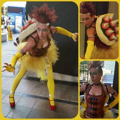 My Lady Bowser Cosplay! Round 2! I made a much better shell. #Bowser #Cosplay #Dragoncon #LadyBowser #Dragoncon2014 #Mario #Nintendo #HideYourPrincesses