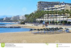 Venus Beach in Marbella,