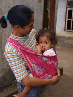 Mom and baby - , Bali