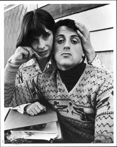 Sylvester Stallone and Talia Shire in Rocky II