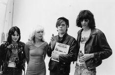 Joan Jett, Debbie Harry, David Johansen and Joey Ramone