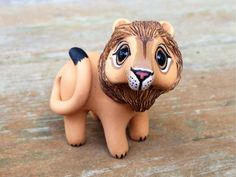 Love this polymer lions face its so cute!!