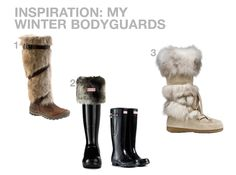 WINTER! ARE YOU READY?! I am! Well, at least my feet are :) Meet my winter bodyguards :) More details on www.designbyme.cz