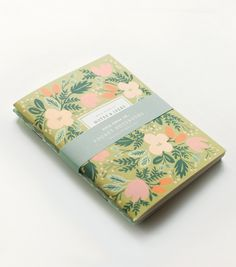 OH MY GOD. Have you heard of Pink Olive's Olive Box? It's a monthly subscription to paper goodness. Get in on this. moss garden pocket notebooks