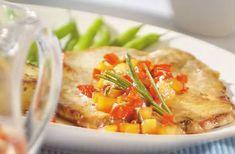 Les Escalopes de porc, sauce aux pommes, une autre façon de savourer le porc du Québec.
