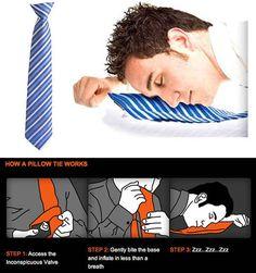 Corbata almohada: | 19 productos absolutamente necesarios para gente perezosa