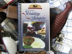 Amish Wedding Sampler walks readers through the prep for an Amish wedding with all types of recipes.