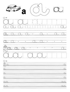 Fotó: Tracing Worksheets, Preschool Worksheets, Preschool Activities, Free Worksheets, Christmas Color By Number, Cursive Letters, Home Learning, Teaching Tips, Special Education