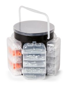 Fine Life Products 600-Piece Hardware Caddy