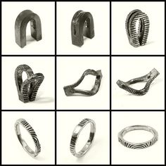 Jumpgate Ring - iron by Blind Spot Jewellery, via Flickr