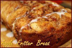 Apple Fritter Bread http://www.momspantrykitchen.com/apple-fritter-bread.html
