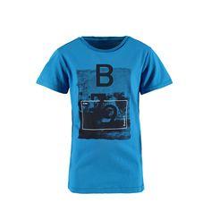 Brunotti Gabriel JR Boys  T-shirt (Blauw) - JONGENS T-SHIRTS - Brunotti online shop