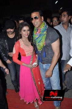 Asin & Akshay Kumar promotes Khiladi 786. More pictures at http://www.nowrunning.com/event/bollywood/khiladi-786-promotion/60410/gallery.htm