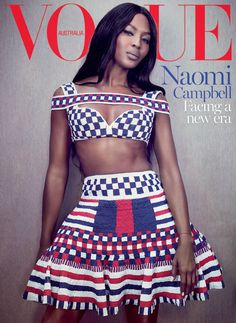 Naomi Campbell by Emma Summerton for Vogue AU